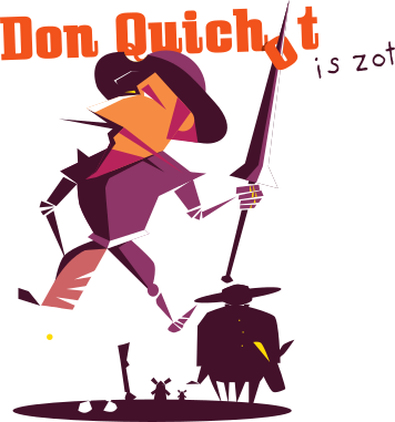 don quichot is zot